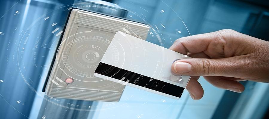 access control key card