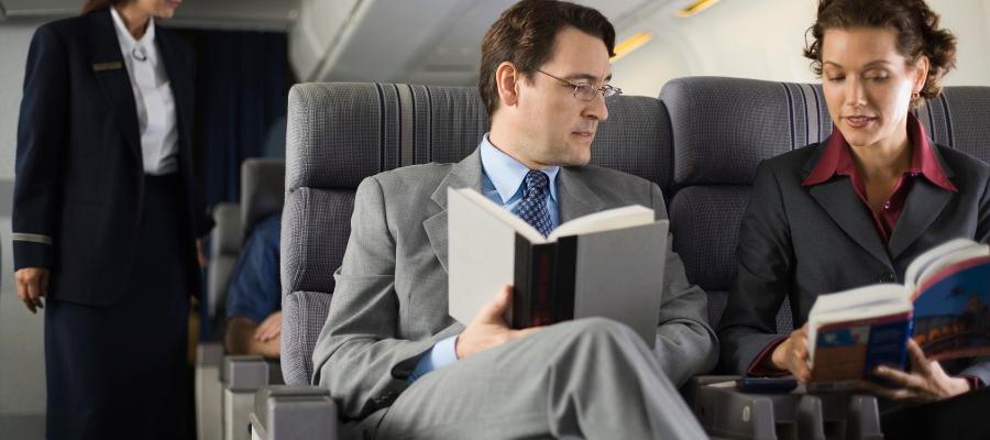 summer reading on plane
